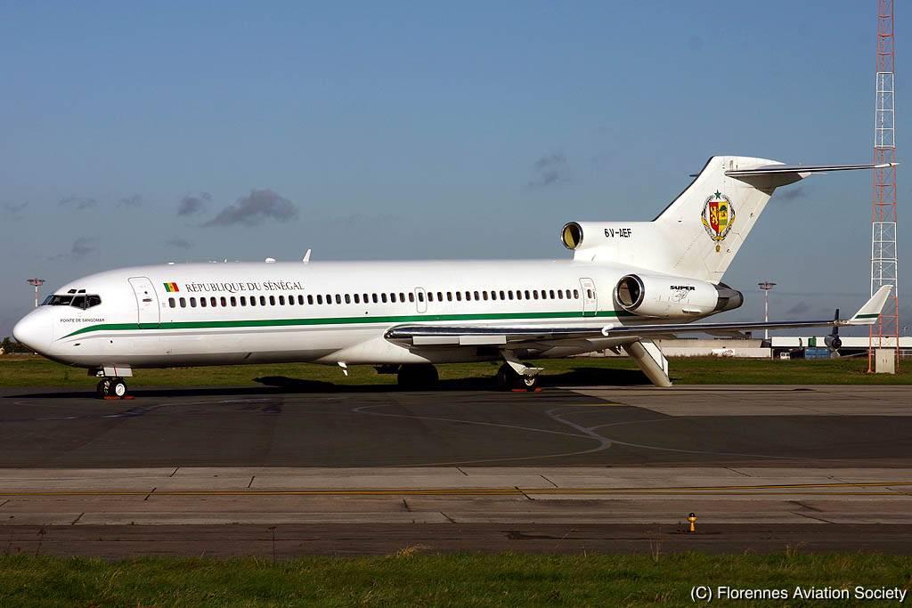 Florennes Aviation Society Africa Senegal B 727 6v Aef